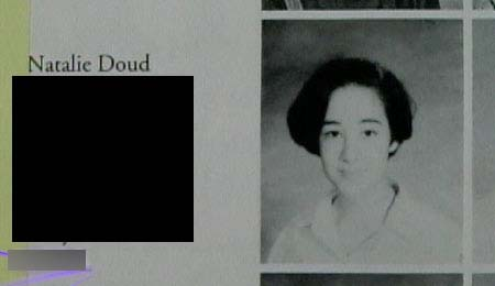 "Nadya Suleman Gutierrez (aka Natalie Doud): Voted ""Most Likely to Breed a Third-World Country"" by Doud High School senior classmates"
