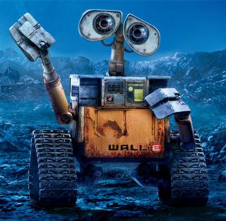 Future Earth Czar WALL-E unveils Trash Talkin' Manifesto during stump speech in T.S. Elliot's Wasteland