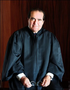 "Justice Antonin Scalia: ""Please don't make me stand up right now. I""m begging you, please..."""