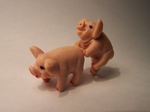 """Making Bacon!"":  Got Swine Flu?"