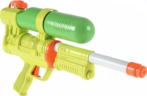 Is that a Super Soaker 50 in your pocket or are you just happy to see me? (your deserved groan here)